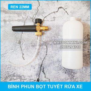 Binh Rua Xe Bot Tuyen Ren 22mm