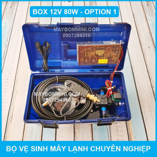 Bo Ve Sinh May Lanh Chuyen Nghiep 12v 80w Box Option 1