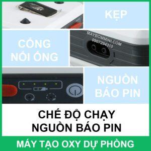 Cach Su Dung May Tao Oxy Mini Du Phong