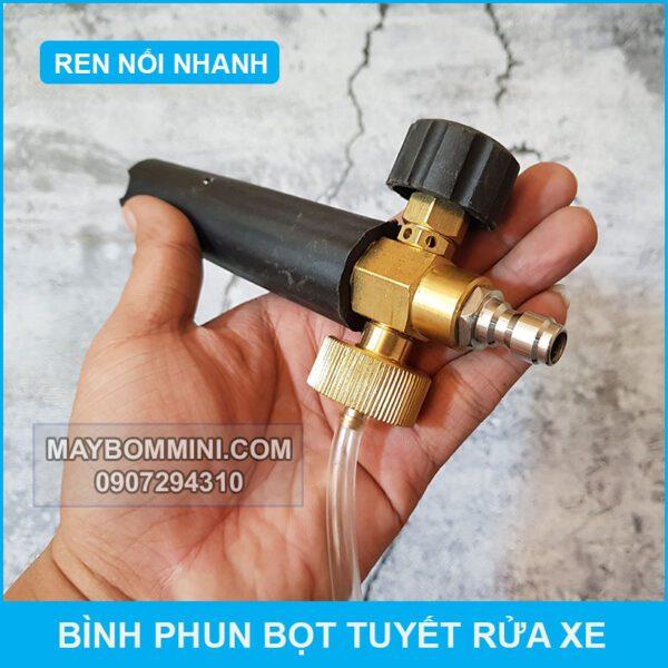 Dau Phun Bot Tuyet Noi Nhanh
