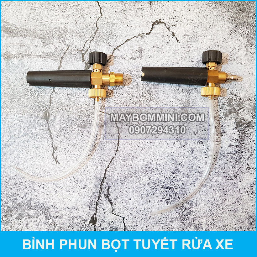 Dau Phun Cua Binh Bot Tuyet Rua Xe
