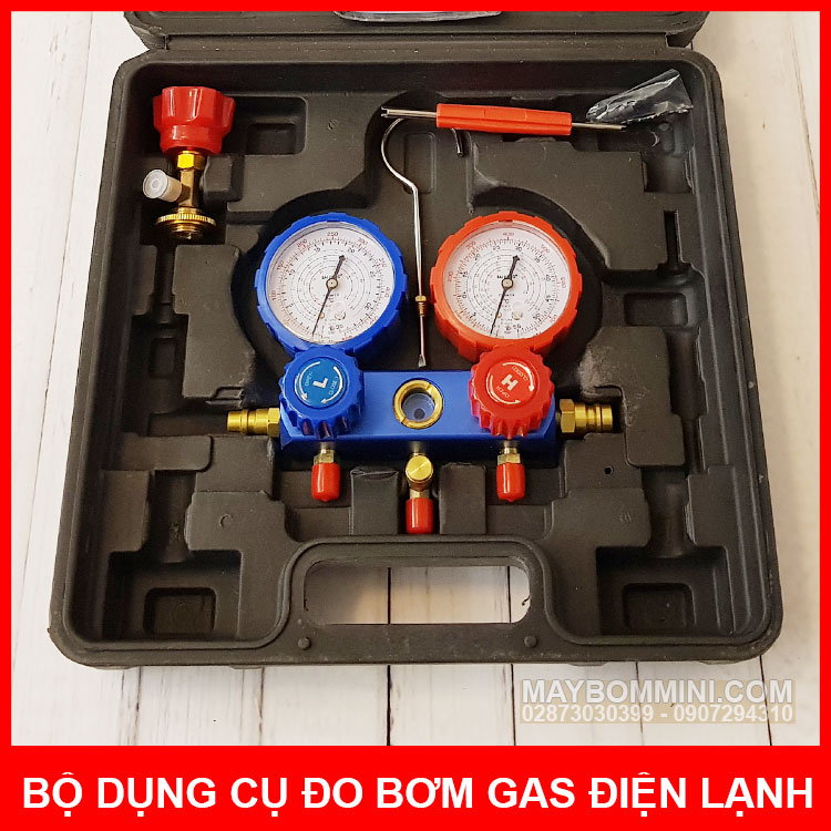 Dong Ho Do Gas May Lanh Tu Lanh