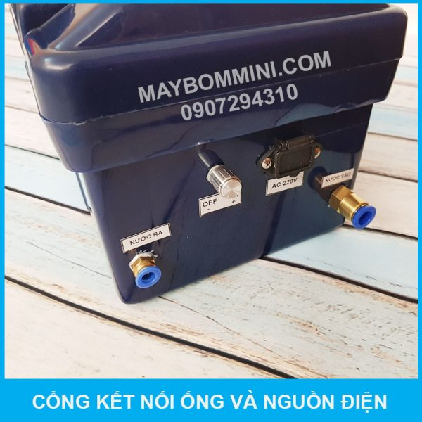 Gan Ong May Bom Ap Luc Mini 12v 80w