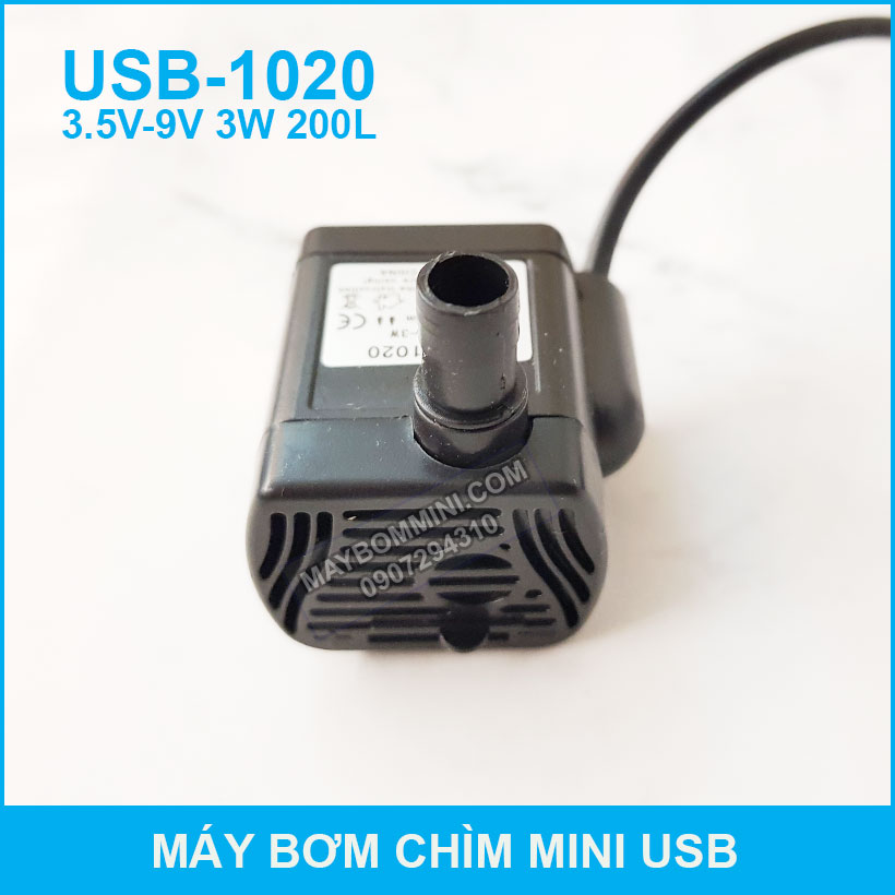 May Bom Nuoc Bang Cong Usb