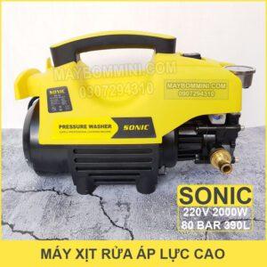 May Rua Xe Ap Luc Cao Sonic 2kw