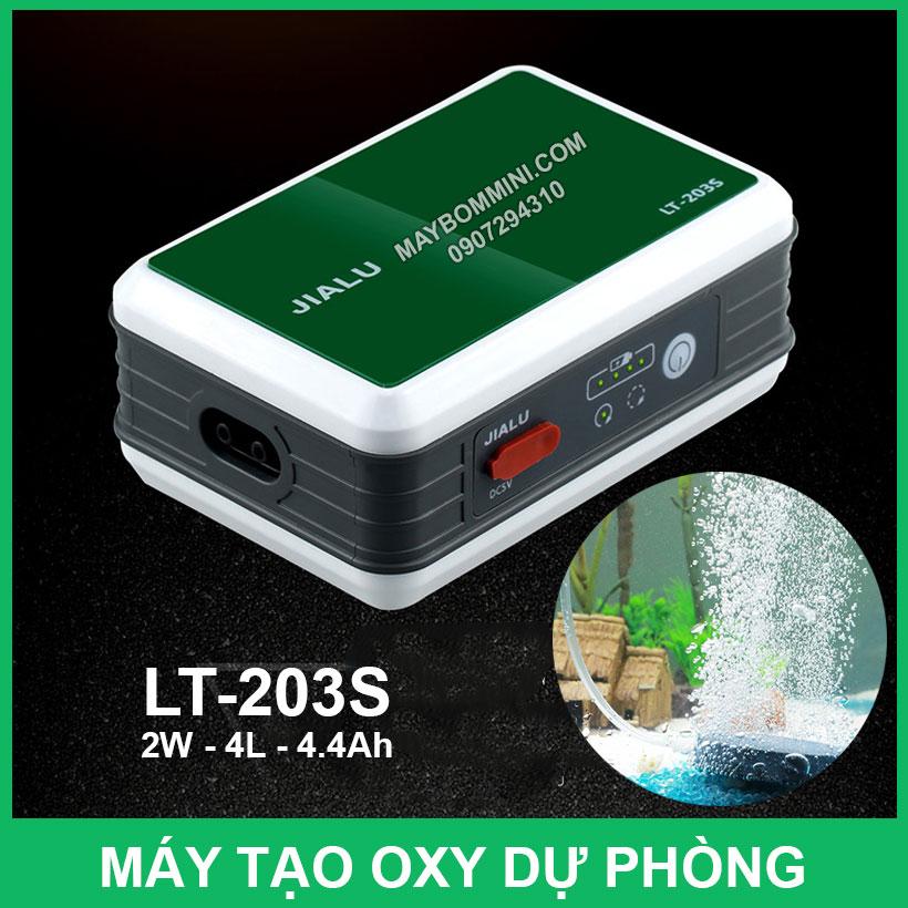 May Tao Oxy Du Phong Dung Pin LT 203S
