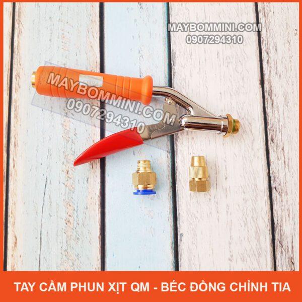 Tay Cam Phun Xit QM Bec Dong Chinh Tia Cao Cap