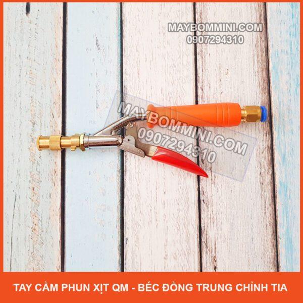 Tay Cam Phun Xit QM Bec Dong Trung Chinh Tia