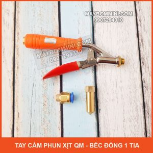 Tay Cam Phun Xit QM Bec Dong Trung Mot Tia