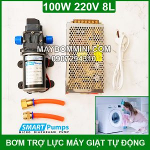 Bo May Bom Tro Luc May Giat Gia Dinh 220v 80w