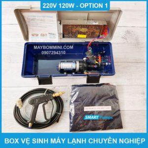 Box Ve Sinh May Lanh 220v 120w Option 1