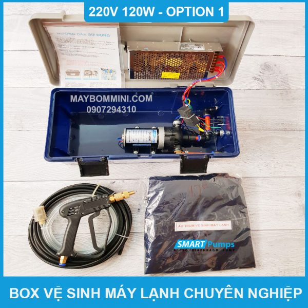 Box Ve Sinh May Lanh 220v 120w Option 1