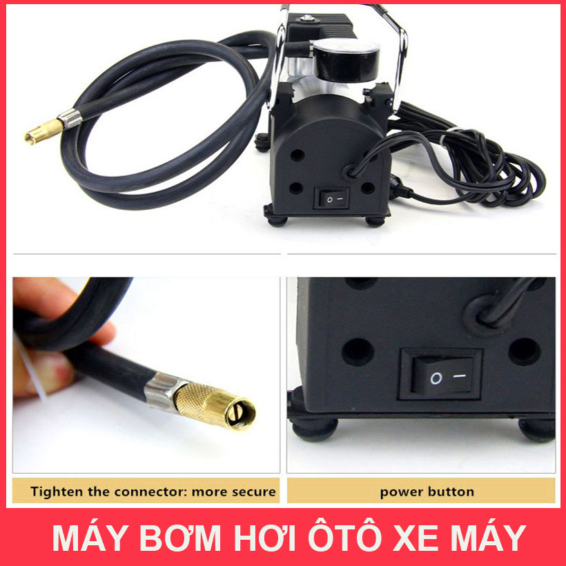 Chi Tiet May Bom Hoi 12v Mini Giare