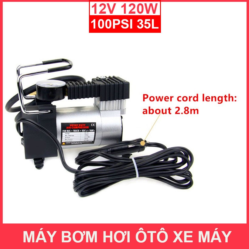 Day Cam Nguon May Bom Hoi Oto 12v