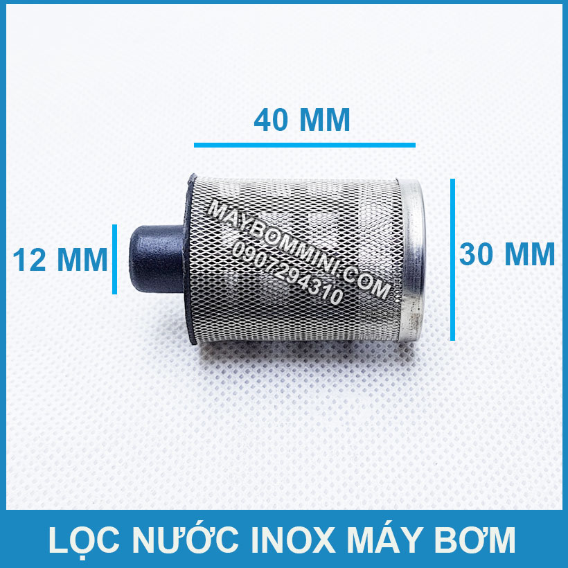 Kich Thuoc Loc Nuoc Inox Mini