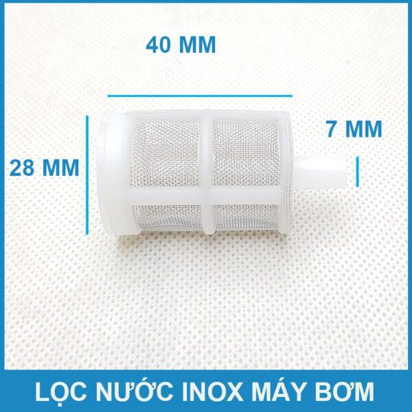 Kich Thuoc Loc Nuoc Mini Nhau 8mm