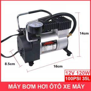 Kich Thuoc May Bom Hoi Mini 12v