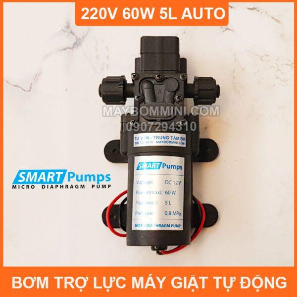 May Bom Ap Luc 12v 60w 5l Smartpumps