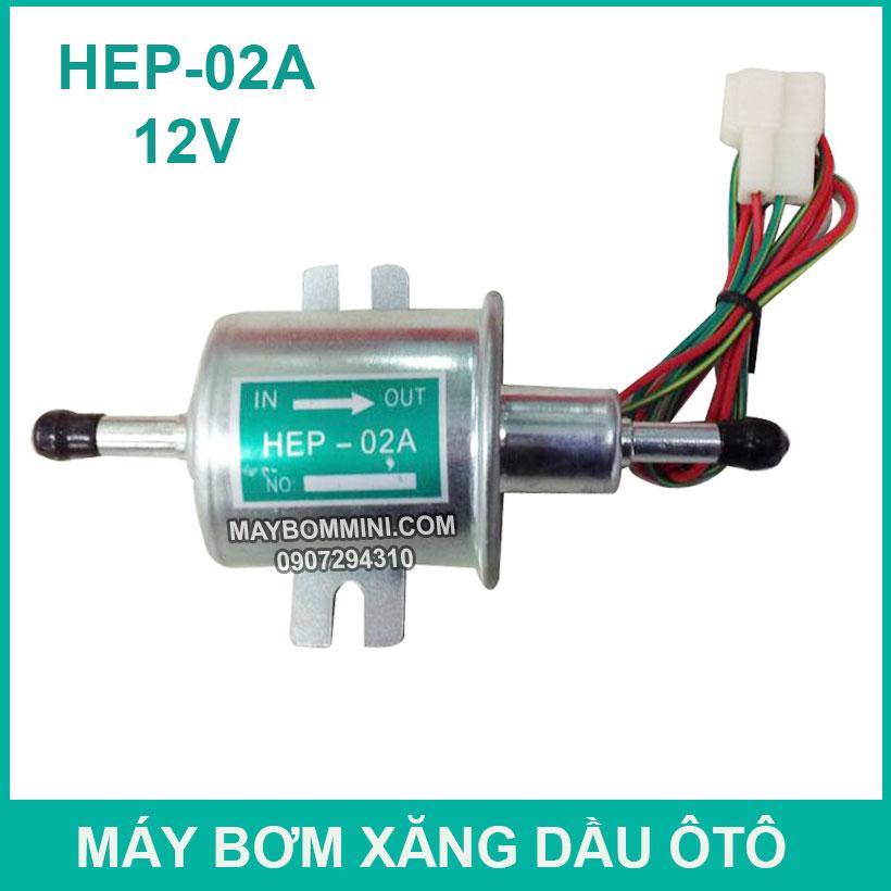 May Bom Xang Dau Dong Co 12v