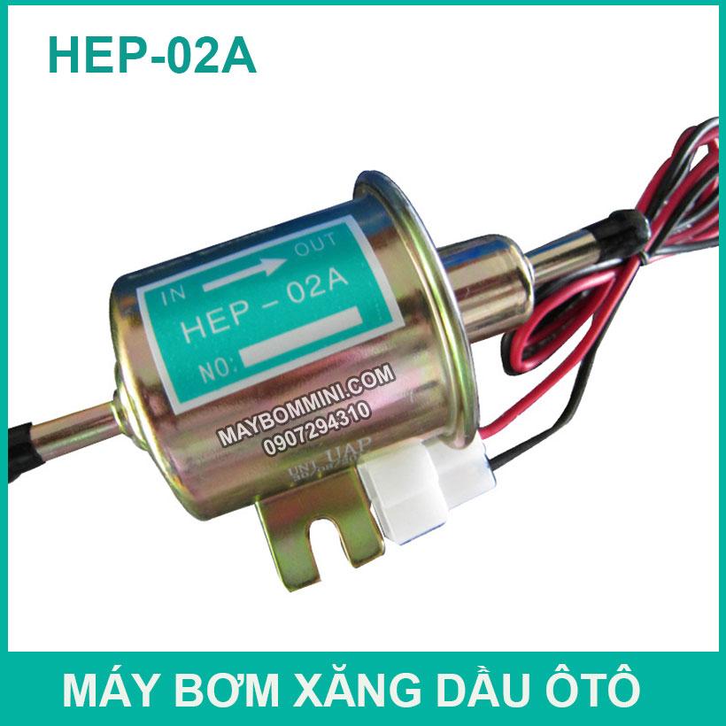 May Bom Xang Dau Dong Co Oto 12v24v