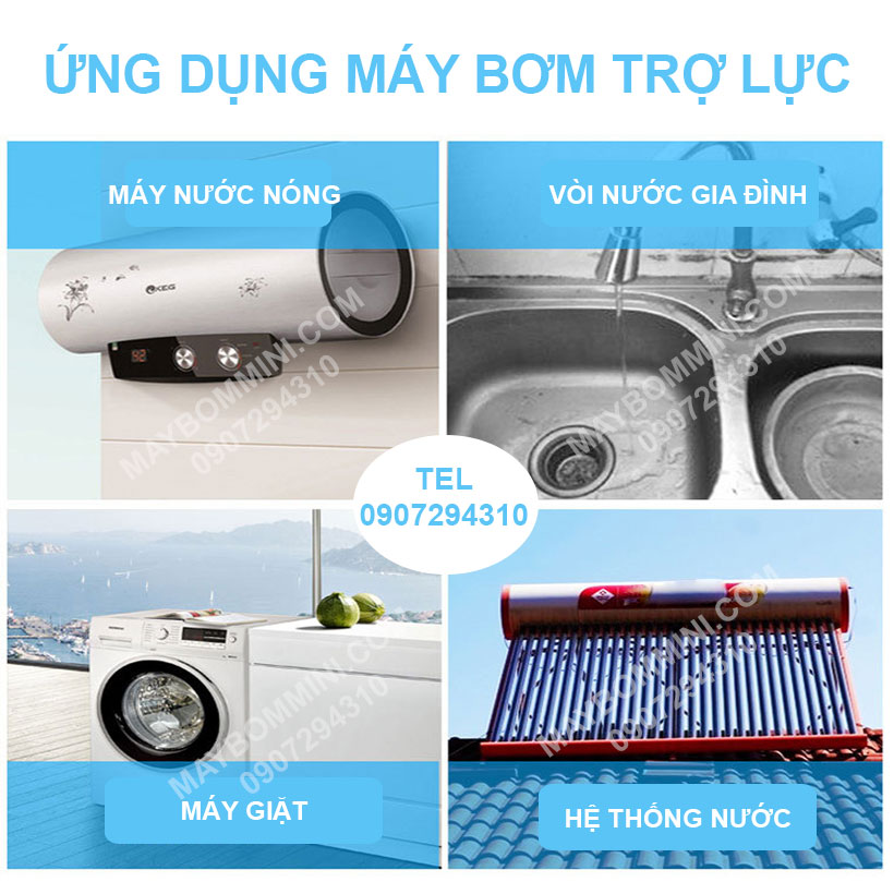Ung Dung May Bom Tro Luc Gia Dinh 220v