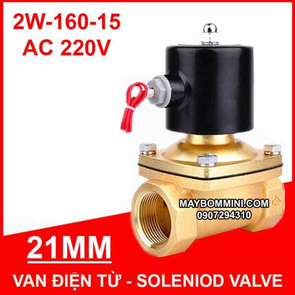 Van Dien Tu Phi 21mm 220v 2w 160 15