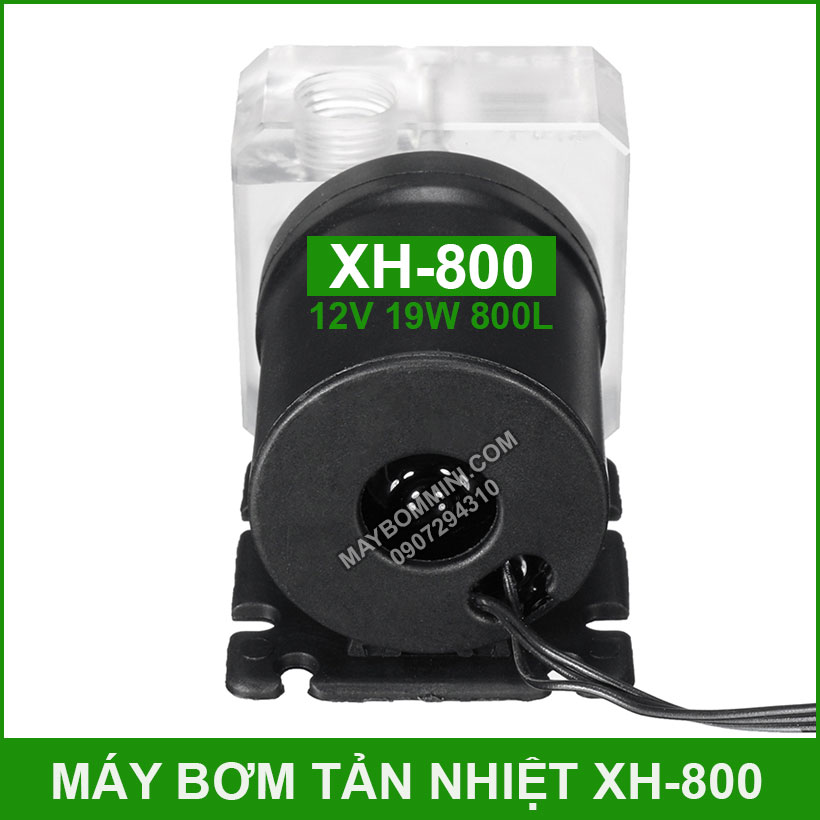 Bom Nuoc Mini Tan Nhiet Cpu 12v