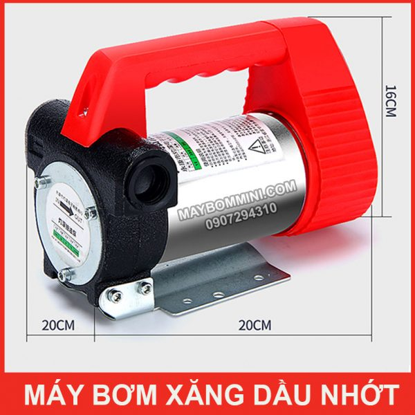 Kich Thuoc May Bom Xang Dau RED Smartpumps