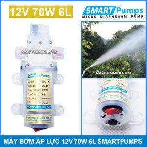 May Bom Ap Luc 12v 70w Smartpumps