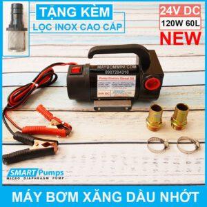 May Bom Xang Dau Nhot 24V 120W 60L Smartpumps