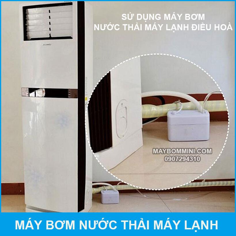 Su Dung May Bom Nuoc Thai May Lanh May Dieu Hoa Dung