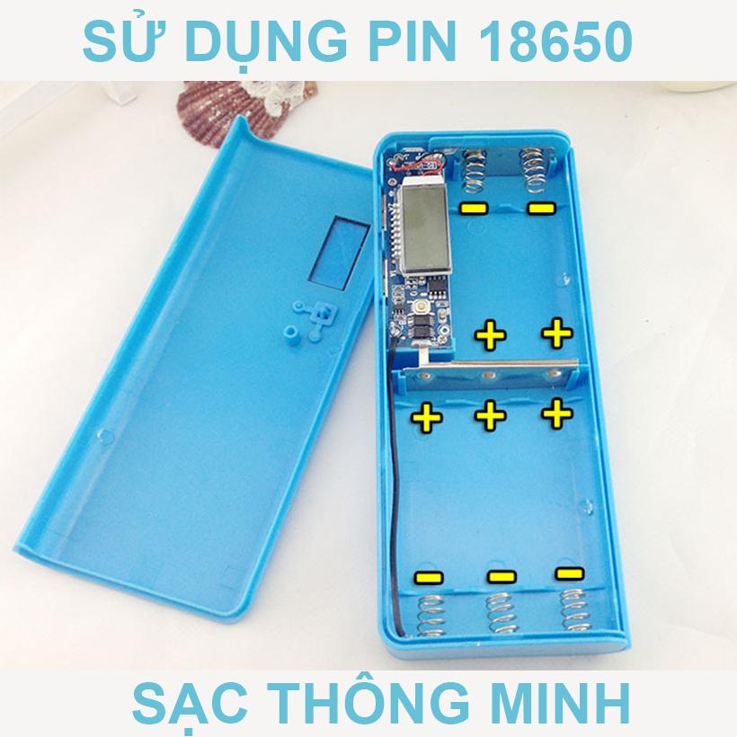 BOX PIN 18650 PIN LAP TOP
