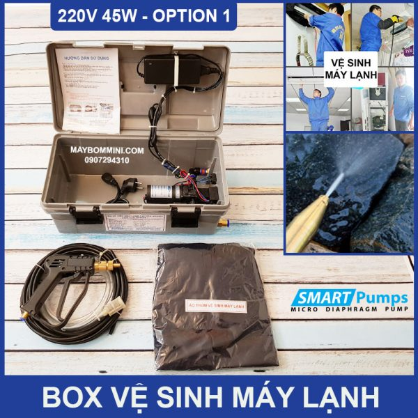 Bo Ve Sinh May Lanh Mini 220v 45w Option 1