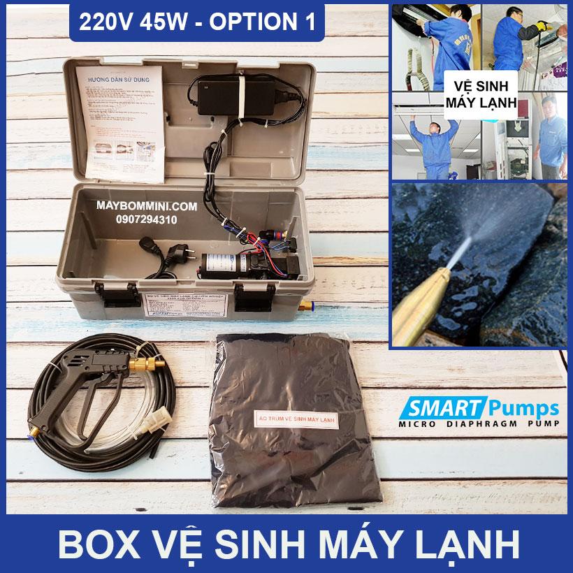 Bo Ve Sinh May Lanh Mini 220v 45w Option 1
