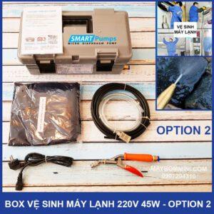 Bo Ve Sinh May Lanh Mini 220v 45w Option 2