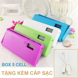 Box Sac 5 Cell Tang Cap Sac Pin