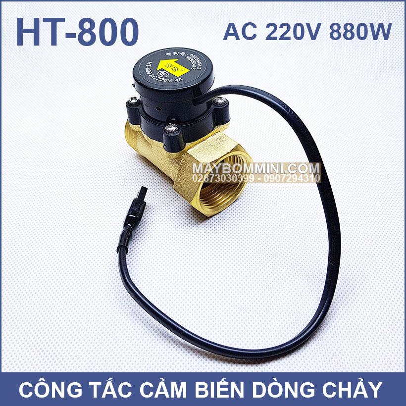 Cong Tac May Bom Tu Dong Khi Khong Co Nuoc