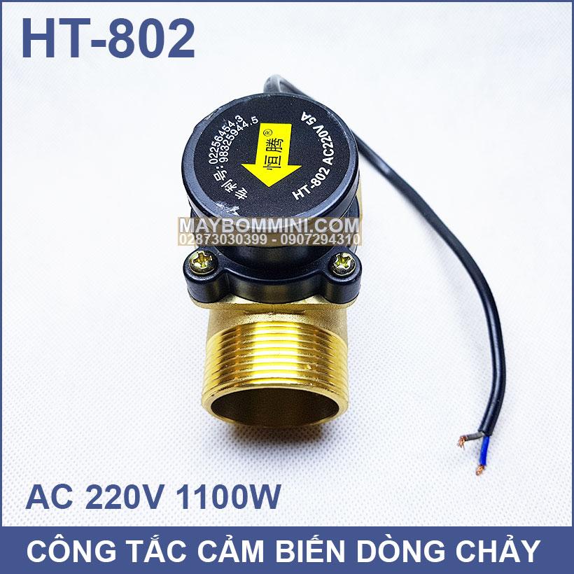 Cong Tac Tu Dong May Bom Nuoc 1100W 220V