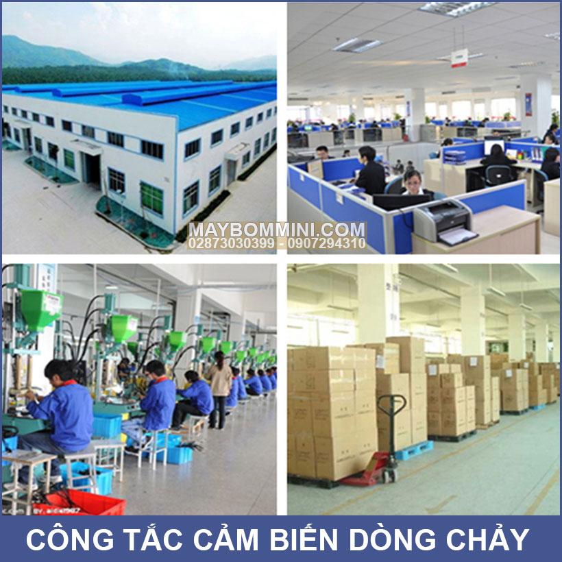 Lap Rap San Xuat Cam Bien Dong Chay