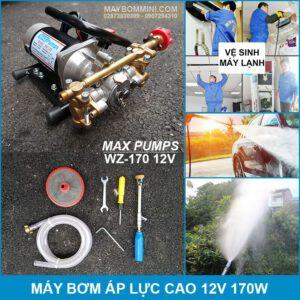 May Bom Ap Luc Cao 12V WZ 170