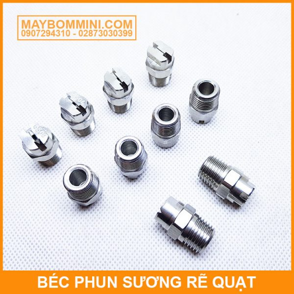 Bec Re Quat Inox 65 Do Chinh Hang