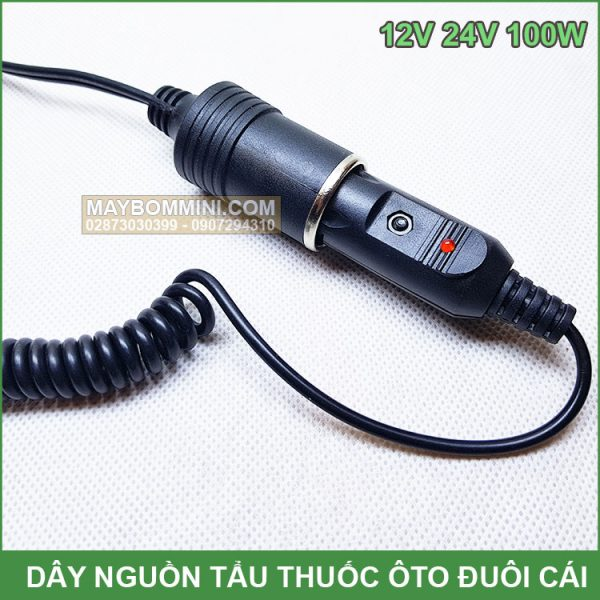Day Dien Nguon 12v 24v Duoi Cai Gia Re