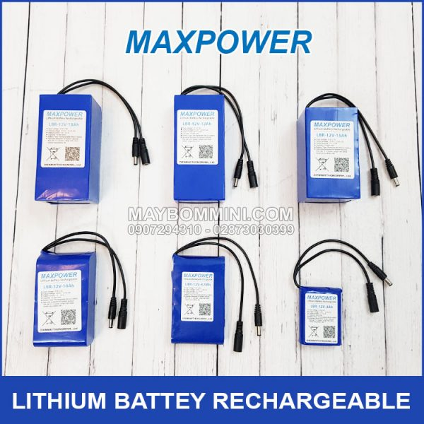 LITHIUM BATTEY RECHARGEABLE