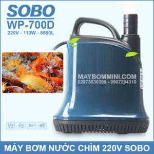 May Bom Nuoc Chim SOBO 220V WP 700D 2019