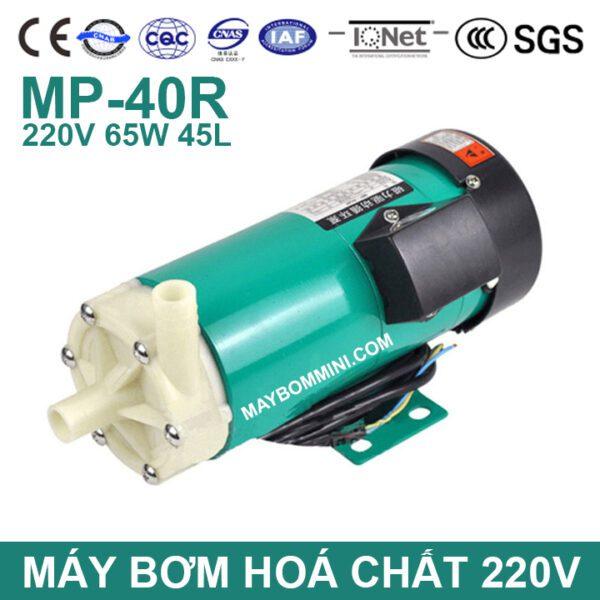 Pump MP 40R 50HZ 220V Magnetic Drink Machine