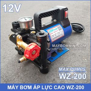 Bom Ap Luc Cao 12v 200W Maxpumps