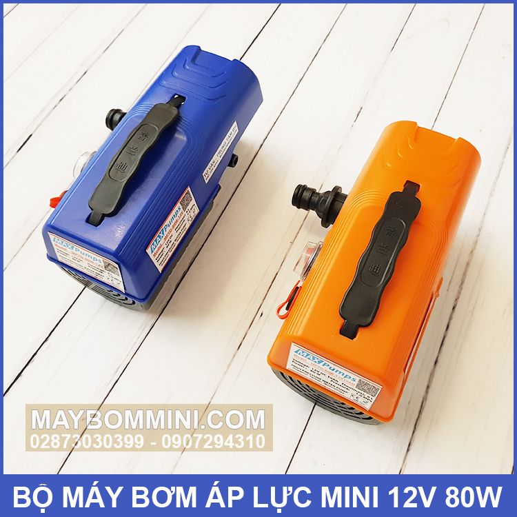 May Ap Luc Mini 12v 80w Gia Re