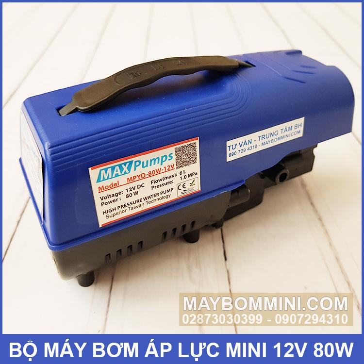 May Bom Ap Luc 12v 80w Maxpumps