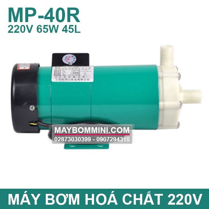 May Bom Axit MP 40R 220V