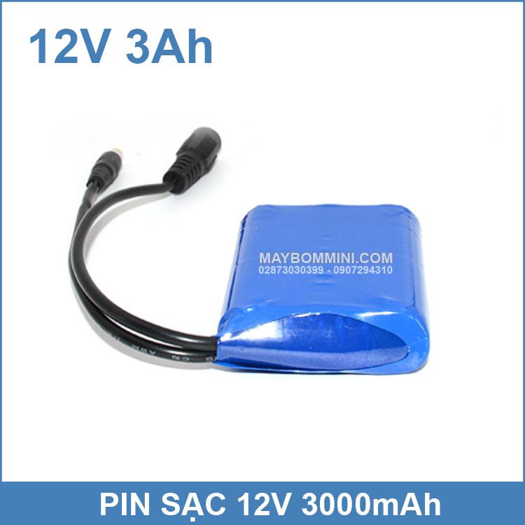 Pin Sac 12v 3000mah